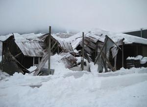 Kollaps av snø