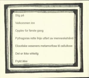 tekst av Andreas Cappelen til utstillingen Cabinet of Curious Codices på Cappelens Forslag 25.- 26. april 2014
