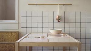 installasjonbilde av Anette Krogstad sine arbeider på utstillingen Samtidsarkeologi del 1, 24. - 26. april 2014